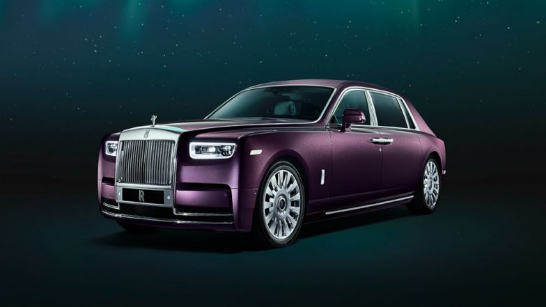 The Rolls Royce New Phantom VIII Car Launched In India ...