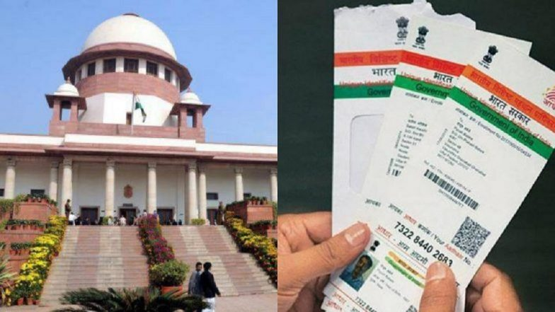 March 31 deadline for linking Aadhaar may be extended: Govt to SC