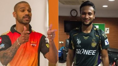 Shakib Al Hasan, Shikhar Dhawan and Other Players who can Replace David Warner as SRH Captain for IPL 2018