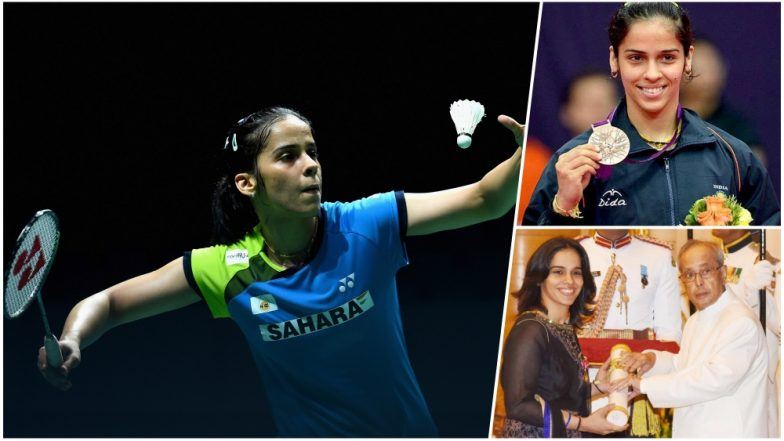 Saina Nehwal Birthday Special: A Look at Indian Badminton Star's Biggest Achievement as She Turns 28