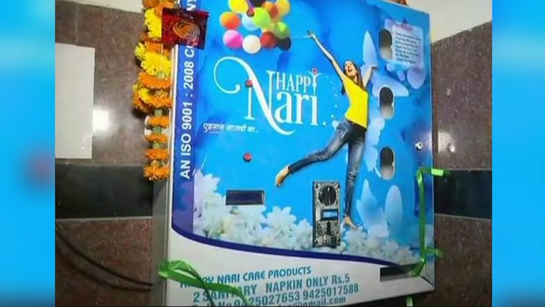 Rajdhani Express Becomes the First Train in India to Install a Sanitary Pad Dispensing Machine on Women's Day