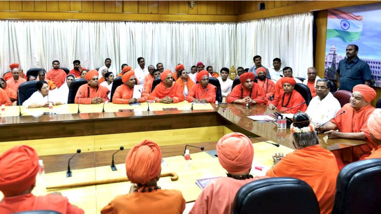 Karnataka government gives separate religion tag for Lingayats
