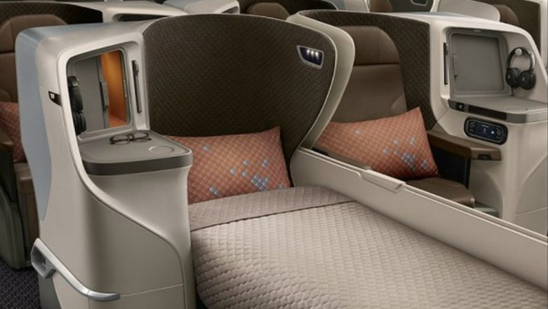 Singapore Airlines Unveils New Regional Cabin Products in its New Boeing 787-10