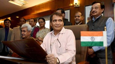 Jet Airways Crisis: Civil Aviation Minister Suresh Prabhu Asks Secretary to Review Airline Issue