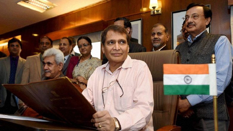 New industrial policy in next few weeks: Suresh Prabhu