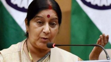 Terrorism an Enemy of Basic Human Rights: Sushma Swaraj at SCO Foreign Ministers' Meet in China