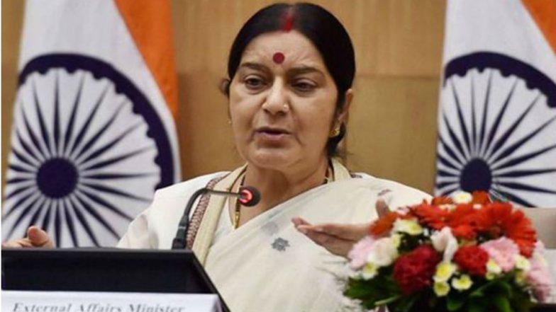 Sushma Swaraj Urged to Help Bring Back Jammu and Kashmir Student's Body From Bangladesh