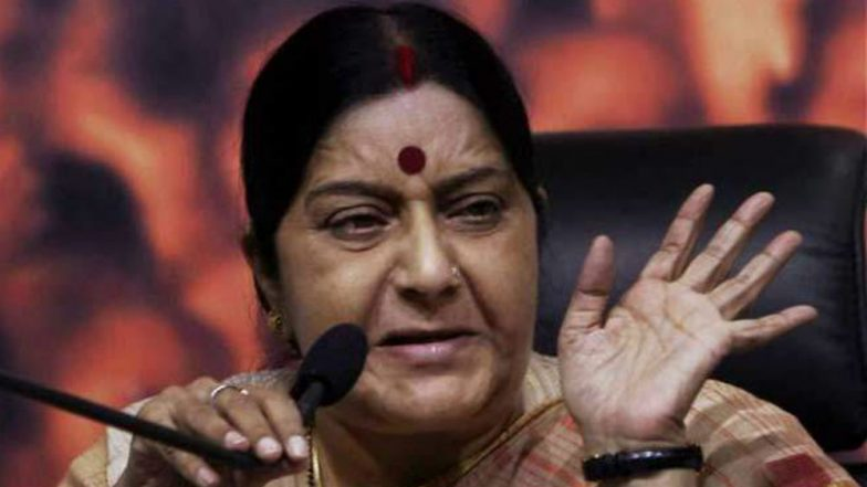 Sushma Swaraj says Naresh Agrawal's statement on Jaya Bachchan 'improper and unacceptable'