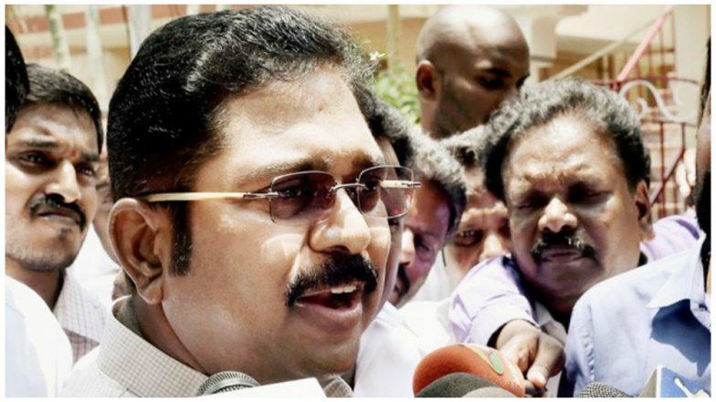 AIADMK MLA takes jibe on TTV Dhinakaran 'Shani has gone now'