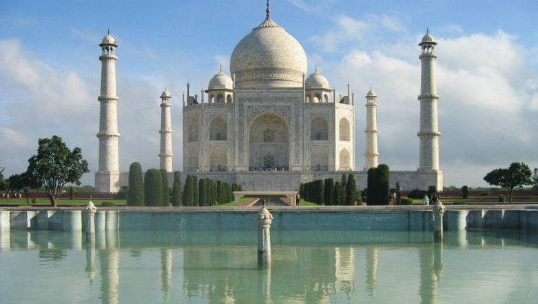 Drone Near Taj Mahal: Two Tourists Detained for Flying Drone Camera Near the Monument