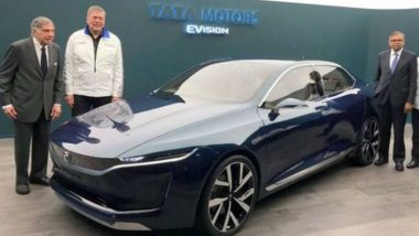 Tata E-Vision Concept Sedan Unveiled At Geneva Motor Show, All You Need to Know about the New All-Electric Car