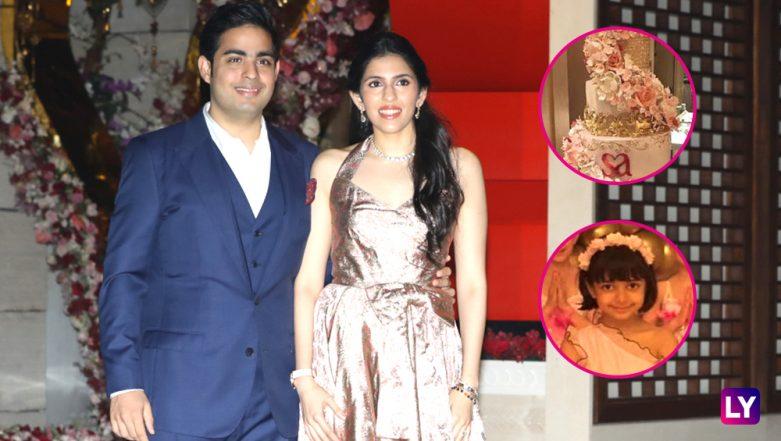 Akash Ambani-Shloka Mehta Post Engagement INSIDE pics: Aaradhya Bachchan, Pink Ballerinas and Delicious Cake Are Interestingly Going Viral