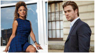 Tessa Thompson, Chris Hemsworth to Reunite For 'Men in Black' Spinoff
