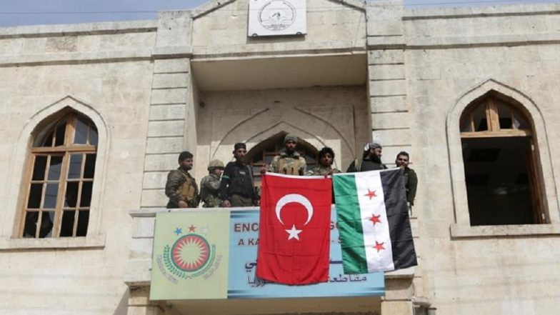 Turkish Military and Allied Militia Capture Afrin in Syria Drive Out Kurdish Rebels