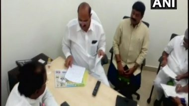 Two Bharatiya Janata Party Ministers in Andhra Pradesh Government Submitted Their Resignation After TDP Snap Ties with NDA