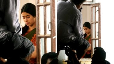 Jhanvi Kapoor Resumes Shooting For Dhadak Post Mother Sridevi's Death, View Pics From The Set