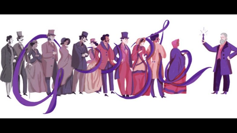 Sir William Henry Perkin dedicated a Google doodle on his birth anniversary