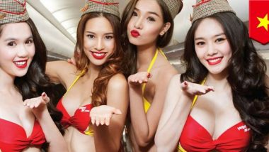 'Bikini Airlines' VietJet to Start Delhi to Vietnam Flights From December 2019, Launches 3-Day Opening Offer With Low Fares For Advance Booking