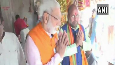PM Narendra Modi, BJP President Amit Shah Lookalikes campaign for UP bypolls