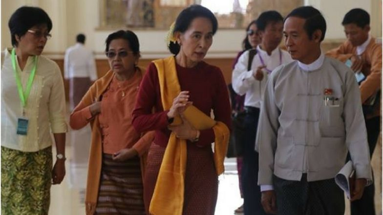 Myanmar elects U. Win Myint as new president