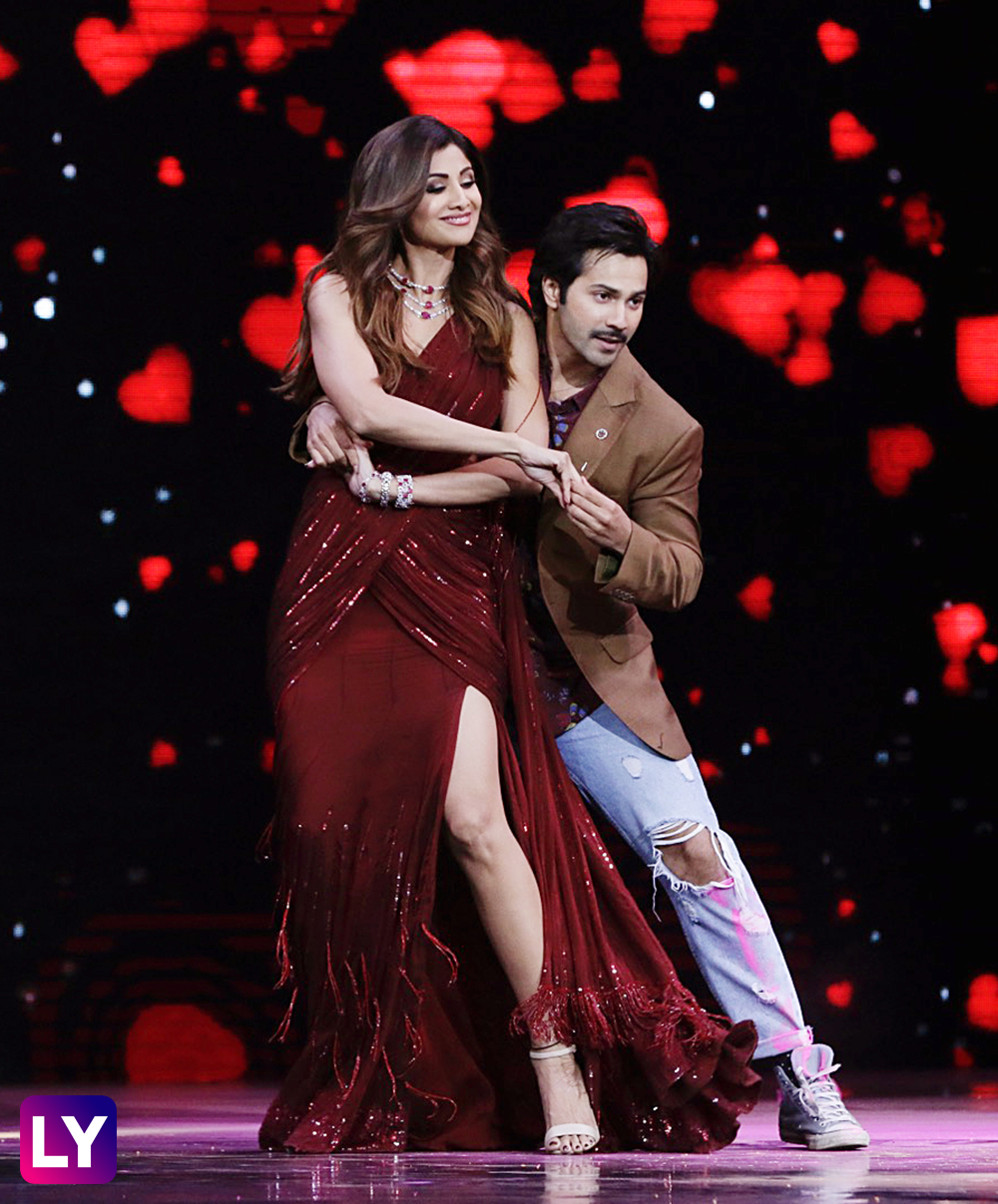 Varun Dhawan And Shilpa Shetty Have Mad Fun On The Sets Of Super