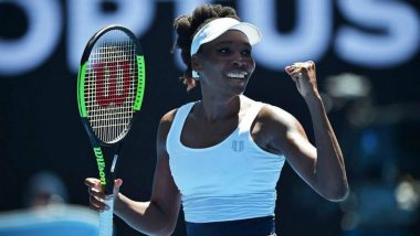 US Open 2019: Venus Williams Eases Past China's Zheng Saisai in a One-Sided Encounter, Advances to the Second Round