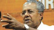 Pinarayi Vijayan Accuses BJP of 'Spreading Lies' After JP Nadda Alleges That Kerala Govt is Suppressing Actual COVID-19 Figures