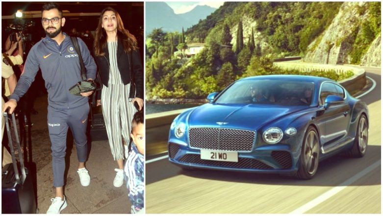 Virat Kohli Caught on Video Driving 5-Year-old Bentley Continental GT While His Luxurious Audi Cars Wait in The Garage!