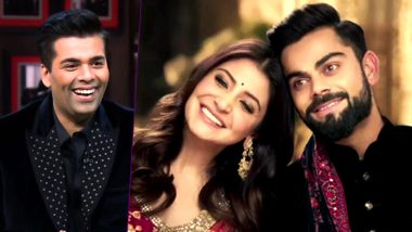 Koffee With Karan Season 6: Anushka Sharma and Virat Kohli to Spill The Beans For KJo?