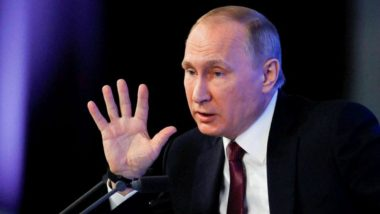 Russian President Vladimir Putin Vows 'Symmetric Response' to US Missile Test