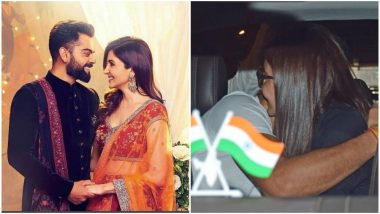 Virat Kohli Welcomes Anushka Sharma At The Airport With a Loving Hug and Basically Gives Us More Couple Goals - View Pics