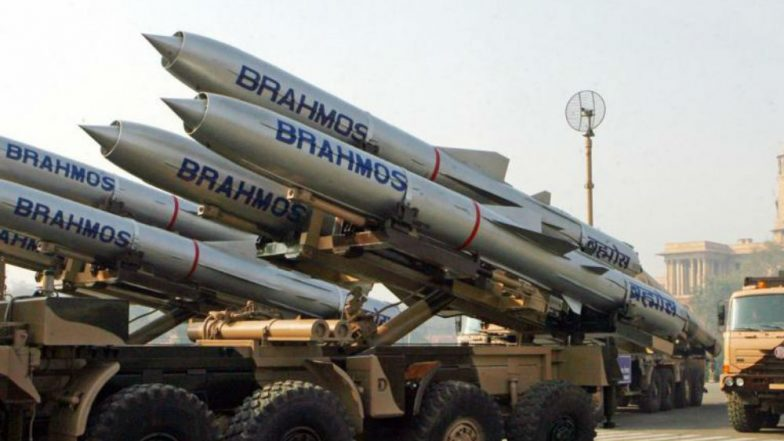 BrahMos-TheSupersonic Cruise Missile Successfully Test-Fired From Pokhran in Rajasthan