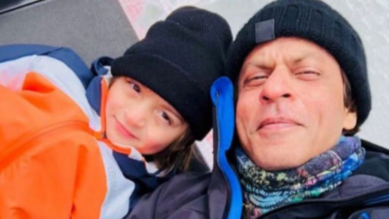 Shah Rukh Khan's trip to Alps with his 'li'l big' skier AbRam
