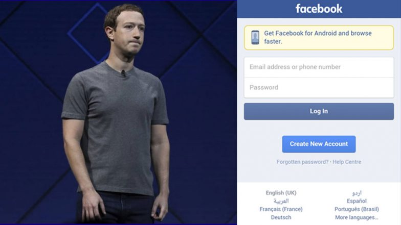 Facebook Deletes Facebook! Mark Zuckerberg Makes Emotional Announcement'End of the Social Media Platform