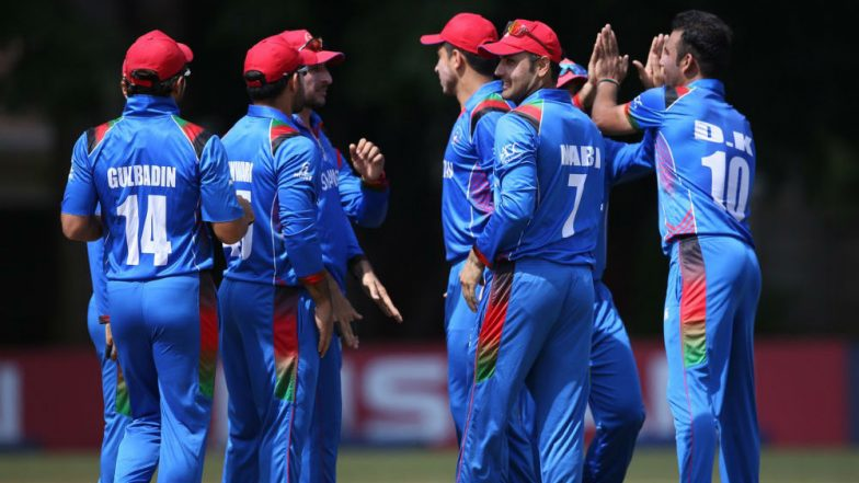 Afghanistan pips Ireland to qualify for 2019 World Cup