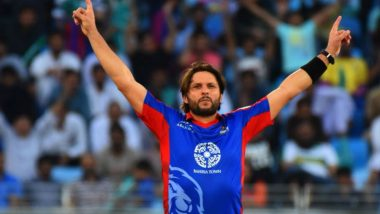 Shahid Afridi to Lead ICC World XI As Eoin Morgan Pulls Out of Windies T20I
