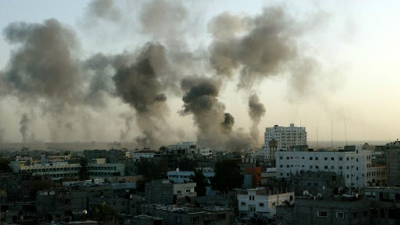 Israel Launches Air Strikes on Gaza Strip After Border Protest Bloodshed