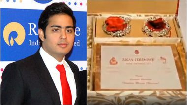 Akash Ambani's Rumoured Wedding Card Video: Viral Clip Showed the Gold Card Costs Rs. 1.5 Lakh