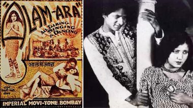 Alam Ara: India's First Sound Film Completes 87 Years Today! Video!