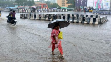 Karnataka Rains: Red Alert Issued in Dakshina Kannada for Two Days, Holiday Declared in Schools in Several Districts
