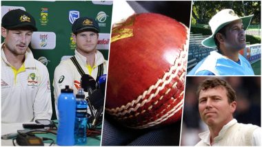 Ball-Tampering History in Test Cricket: Before Steve Smith-Bancroft, Sachin Tendulkar, Michael Atherton & Other Cricketers Were Accused of Tampering the Ball