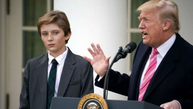 President Trump's Son Barron Trump's School Joins Others In Call For Gun Reforms, Opposes Move to Arm Teachers