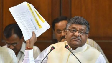 Fear of Job Losses Misplaced, 'New Age Tech' to Create More Employment: Union Minister Ravi Shankar Prasad