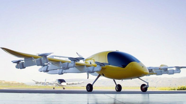 Self-flying Air Taxi Cora Launched in New Zealand by Google's Founder Larry Page's Kitty Hawk