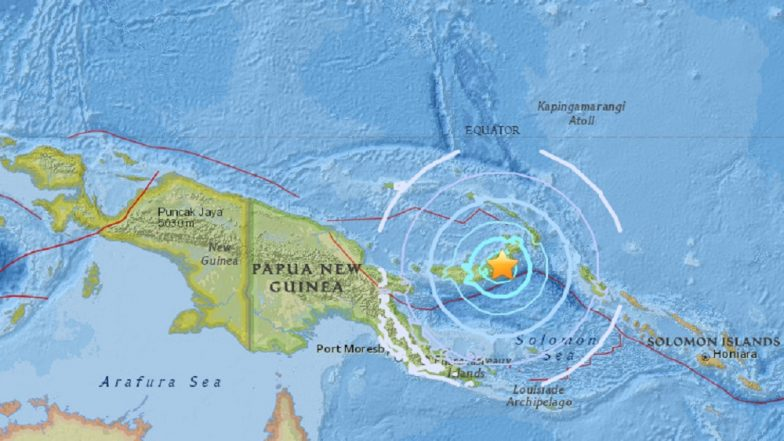 Papua New Guinea rattled by magnitude 6.6 earthquake