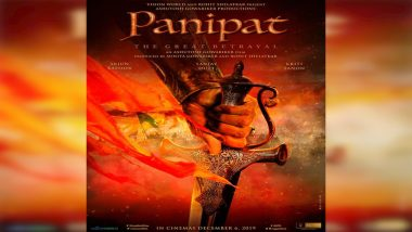 Panipat First Look: Ashutosh Gowariker Brings Sanjay Dutt, Arjun Kapoor and Kriti Sanon Together For the Battle About The Great Betrayal