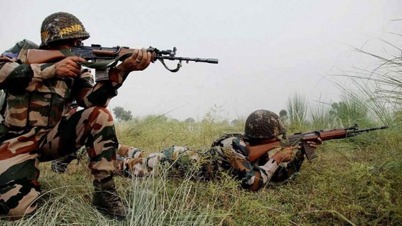Jammu and Kashmir: Four Terrorists Gunned Down by Security Forces in Baramulla, Encounter Underway