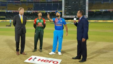 India vs Bangladesh 2nd T20I 2018 Toss Report & Playing XI: Rohit Sharma Wins Toss, Elects to Bowl