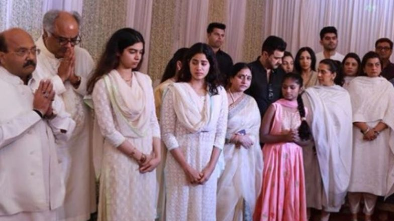 INSIDE PIC Janhvi Kapoor And Khushi Get Teary Eyed At Sridevi's Chennai Prayer Meet