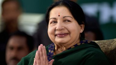 Jayalalithaa Death Controversy: Apollo Hospitals Claims All CCTV Cameras Switched Off During AIADMK Chief's 75-Days of Hospitalisation